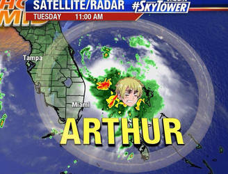 Tropical Storm Arthur by TPS-Enzo