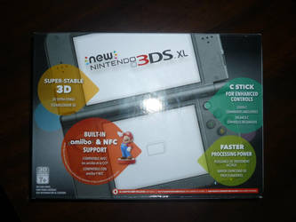 New Nintendo 3DS XL (Black) by TPS-Enzo