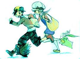 just runnin by mohja