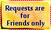 Request for friends only by Arerona