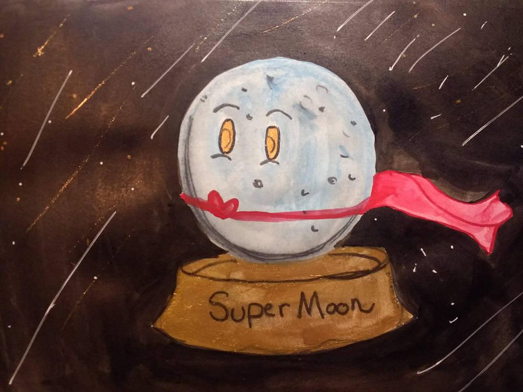 Supermoon! by Arerona
