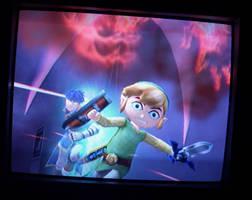 Run, toon Link.. RUN by lewisrockets