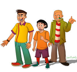 BULLY: Jim, Pete and Gary (EEnE) by lewisrockets