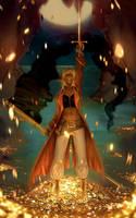 Almighty Captain Sheba by GisAlmeida