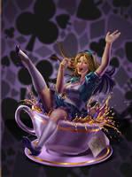 Alice's Tea Party by GisAlmeida