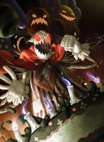 League of Legends: Halloween Fiddlesticks by GisAlmeida
