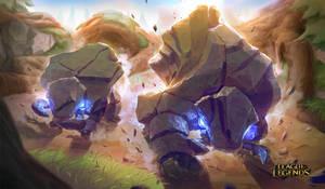 League of Legends - Krugs by GisAlmeida
