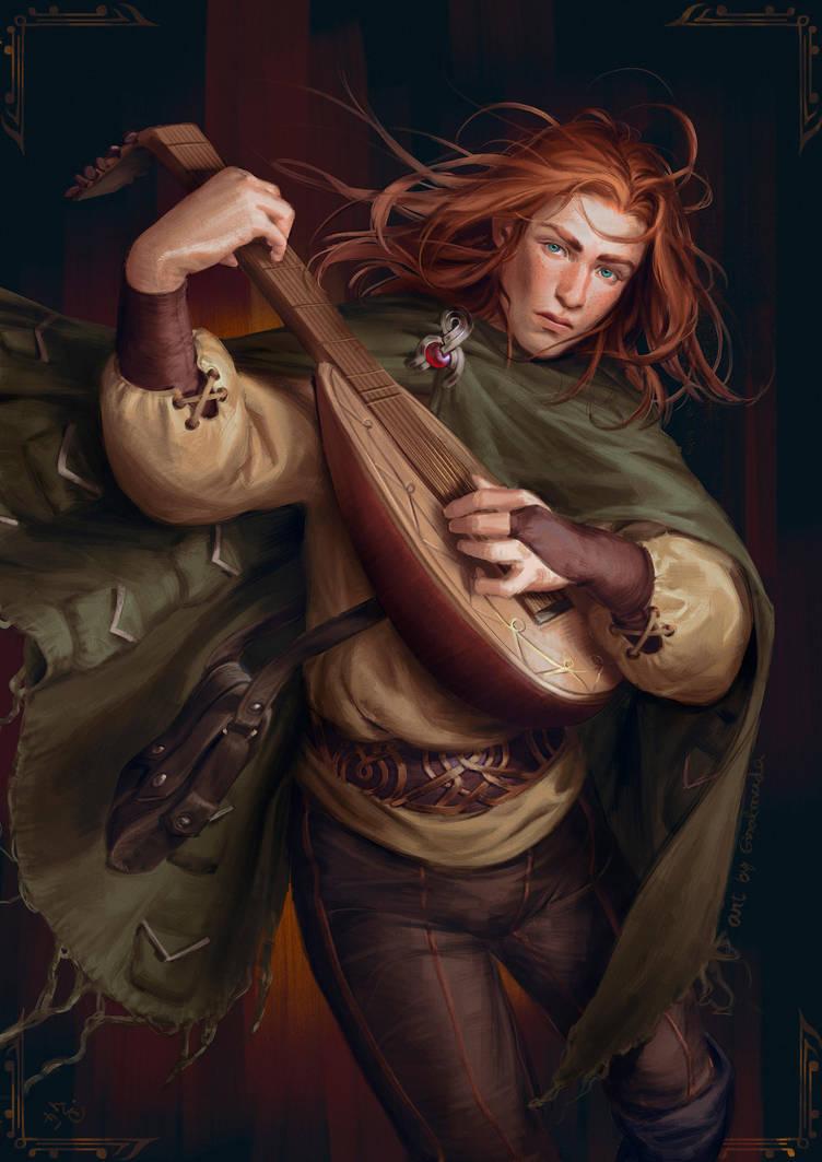 Kvothe - The Kingkiller Chronicles by GisAlmeida
