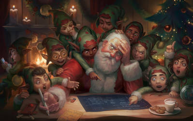 Dear Satan: Merry Christmas and Happy New Year! by GisAlmeida