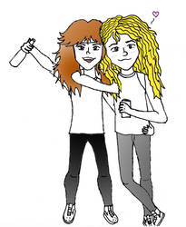 James Hetfield And Lars Ulrich by CanYouDigIt69