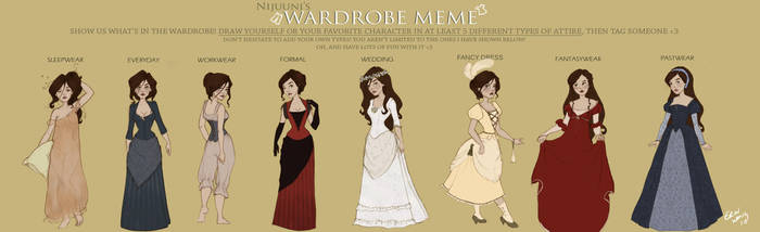 Wardrobe meme by Ninidu