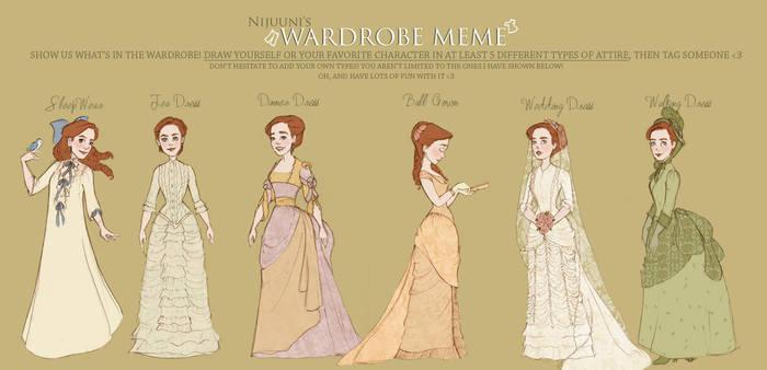 Wardrobe meme the Second by Ninidu