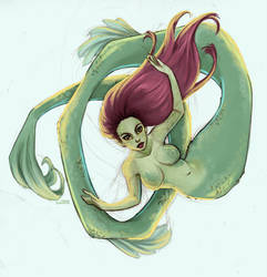 Sea Creature by Ninidu