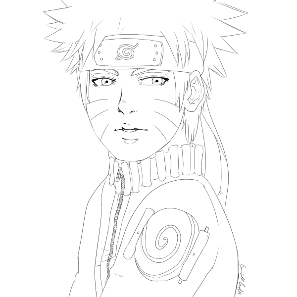 Naruto Line Art By The Typical Toy Box On Deviantart