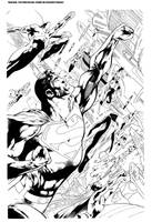 Superman inks by apalomaro