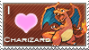 Charizard Love Stamp by SquirtleStamps
