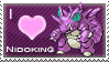 Nidoking Love Stamp by SquirtleStamps