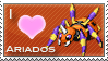 Ariados Love Stamp by SquirtleStamps