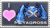 Metagross Love Stamp by SquirtleStamps