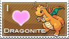 Dragonite Love Stamp by SquirtleStamps