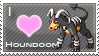 Houndoom Love Stamp by SquirtleStamps