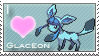 Glaceon Love Stamp by SquirtleStamps