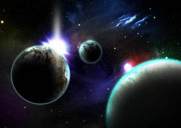 Space Oddity by Speedialga