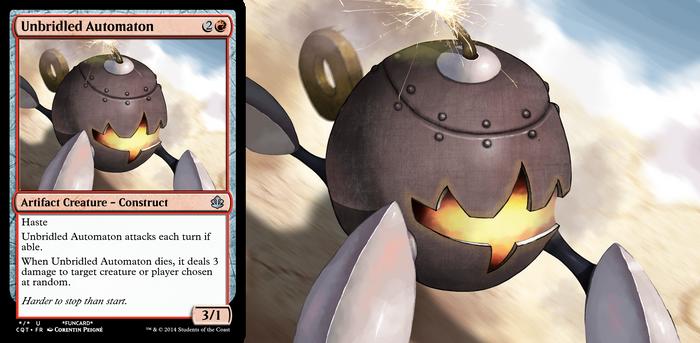 Magic Funcard : Unbridled Automaton by Speedialga