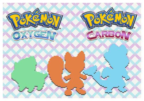 Introducing Pokemon Oxygen and Pokemon Carbon by Speedialga