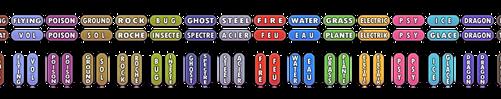 Pokemon Custom Types Buttons (EN + FR) by Speedialga
