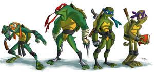 Teenage Mutant Ninja Turtles by 3nrique