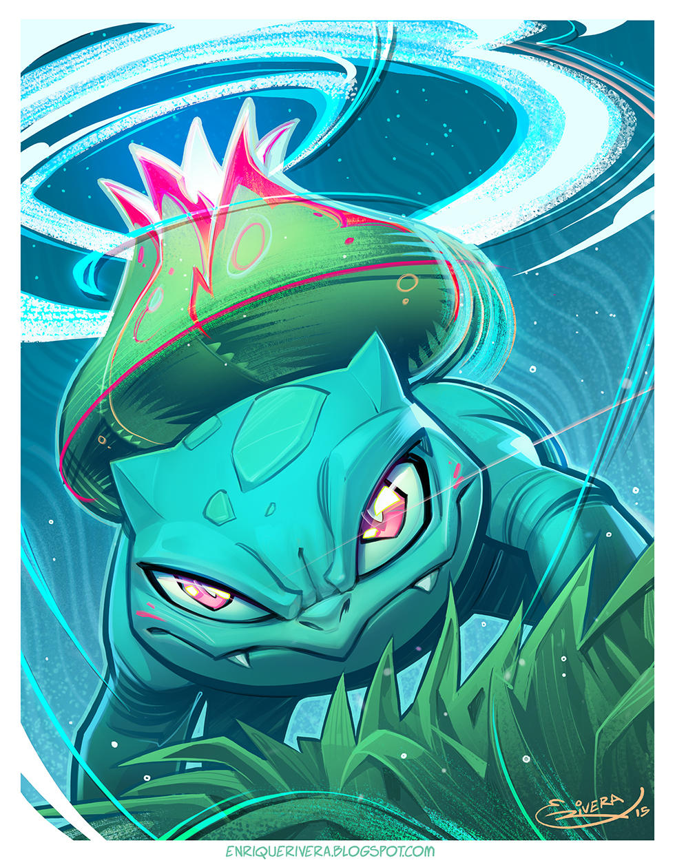 Bulbasaur by 3nrique