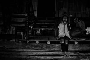 Padaung Children V by reirainx