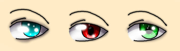 eye shading practice by Art-Void7