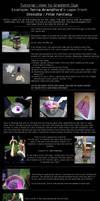 How to gradient dye tutorial by momoiro-machiko