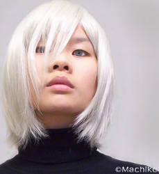 Kadaj - Diene Wig Test by momoiro-machiko