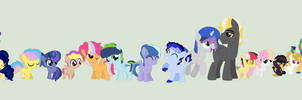 That's A LOT Of Ponies... by cosmic-oreo