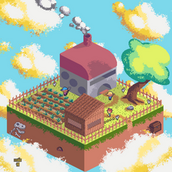 Pixel Isometric Farm by TaoCesar