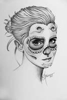 A little bit of Emma Watson and muerto  style by Guzeev