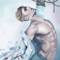 Erwin bloodstained wings by nurumayu35
