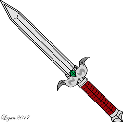 Mythril Sword by TheHeroofHarmony