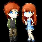 Kayla and Kyle twins! by SakuraYagami