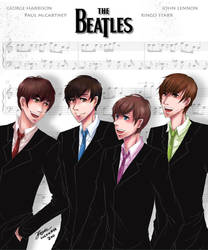 The beatles - together by Luckyaya