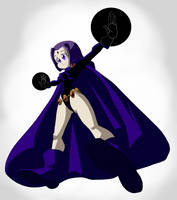 Raven by darkkeferas