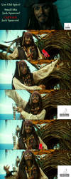 Jack Sparrow and Old Spice by Wilhelmine