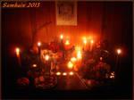 Magic Raven Samhain Altar 2013 - 2 by Wilhelmine