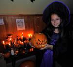 Samhain Witch by Wilhelmine