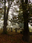 October Cemetery 6 by Wilhelmine