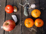 Offerings for the Garden Fairies by Wilhelmine