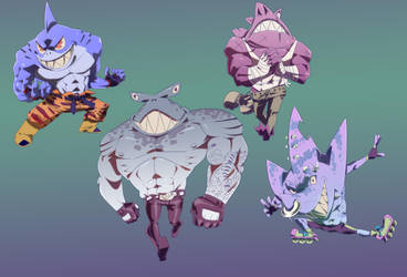 STREET SHARKS by Endofdaysonmars